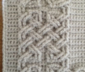 Book of Kells - Large Celtic Cables
