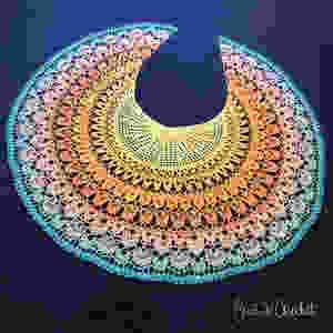 Birds of Paradise Shawl, free crochet pattern from Suvi's Crochet