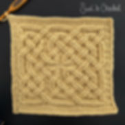 Book of Kells - Square Knot