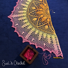 Deco Sunburst Shawl