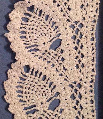 Great Grandmas Pineapple Lace