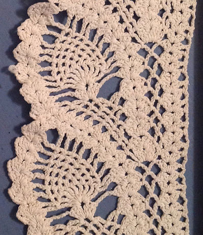 Great Grandmas Pineapple Lace