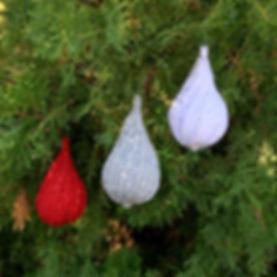 Spiral Drop Christmas Ornament
