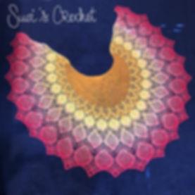 Peacock Petals Shawl