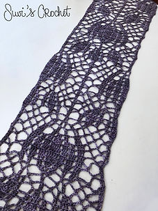 Crown Imperial Lace Scarf