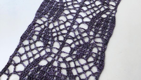 Crown Imperial Lace Scarf Diagrams