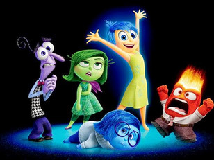 """PIXAR'S """"INSIDE OUT"""" AND THE STAGES OF GRIEF"""