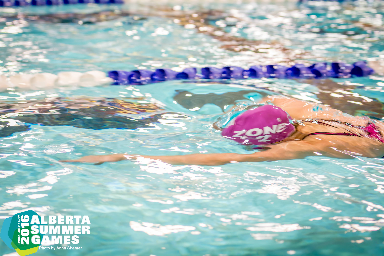 Swimming - Alberta Summer Games 2016