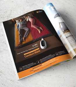 To effectively launch the non-electric bed warmer; Comfort-mate, we have taken an interactive approach to educate the potential buyers to guide them with how the product works. Dual language website along with social media pages were developed, and PR event was also held among Asian media journalists to boost public interests.  / Campaign conducted @ URI Global