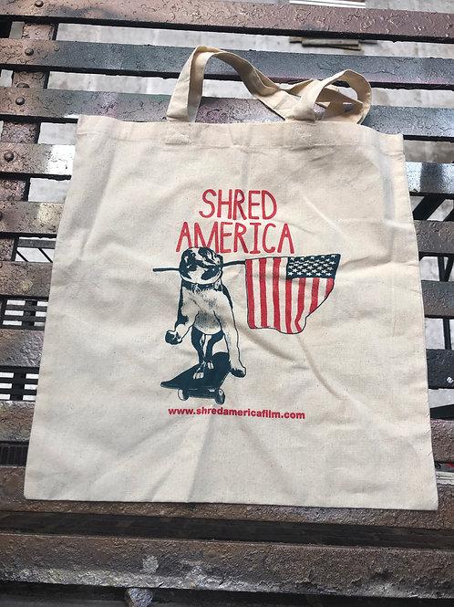 Shred America - Rocko The Dog - Tote Bag