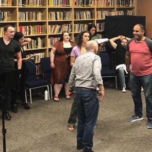 Rehearsals For Julius Caesar