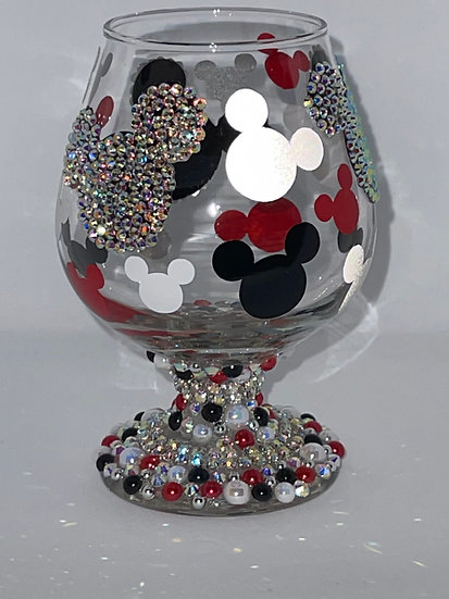 Mickey Mouse Brandy Snifter