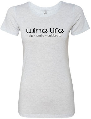 WINE LIFE LOGO TEE