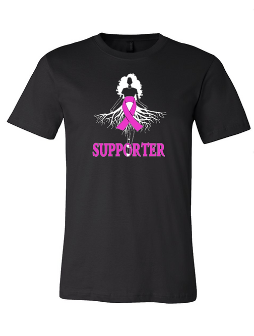 Breast Cancer Supporter Roots Tee