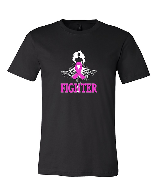 Breast Cancer Fighter Roots Tee
