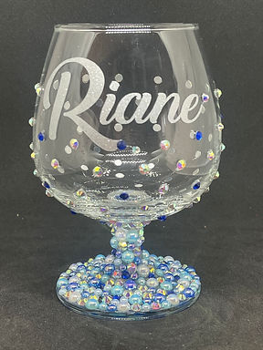 Original Diva Bling Brandy Snifter