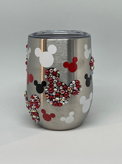 Mickey Mouse Stainless Steel Wine Tumbler