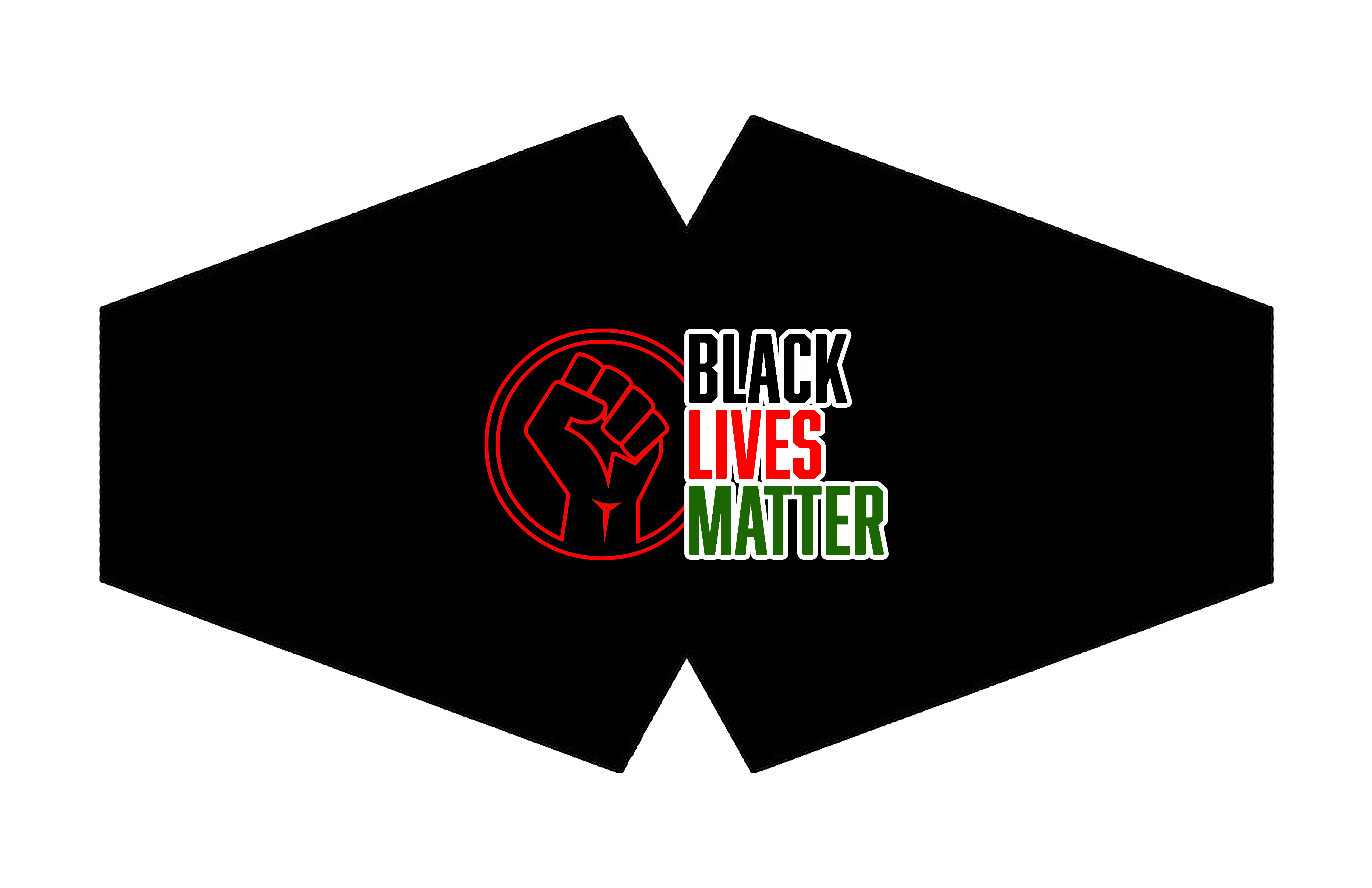 BLM FIST LOGO MASK