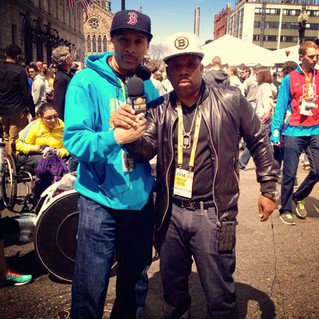 118th Boston Marathon in 2014 with HHRE GROUP