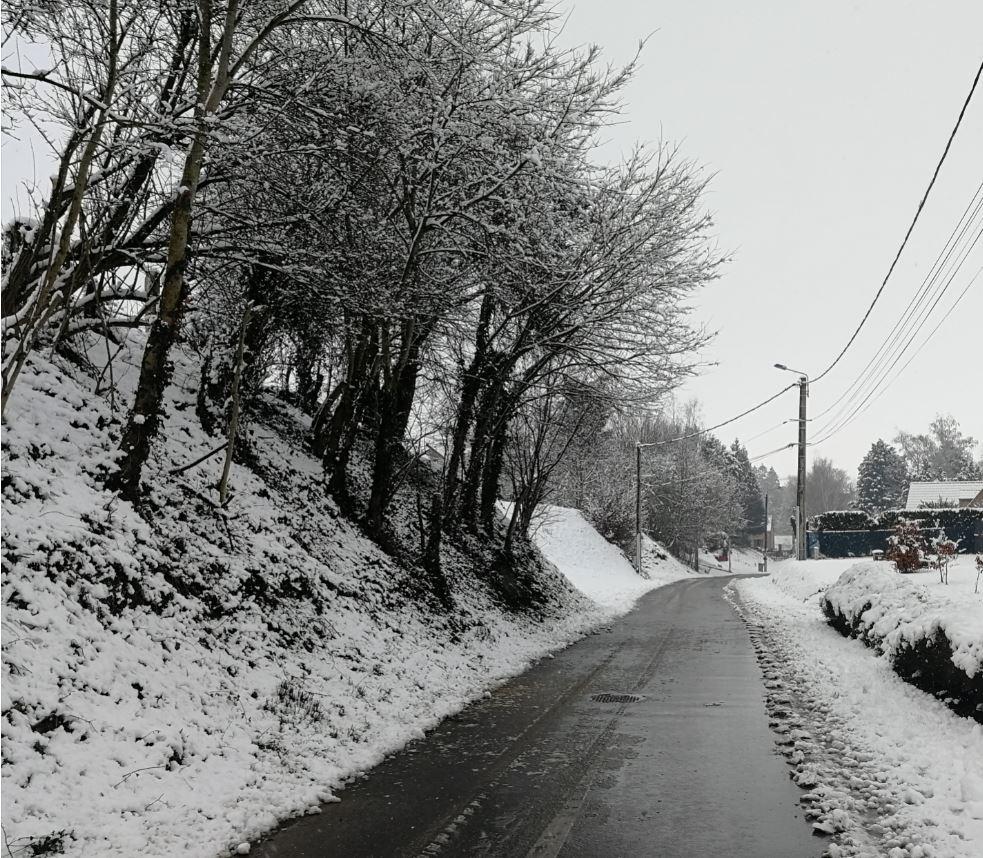 Charrette hiver