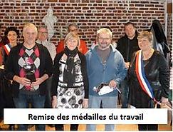Remise des médailles du travail Orsinval