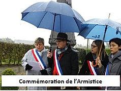 Commémoration de l'armistice Orsinval