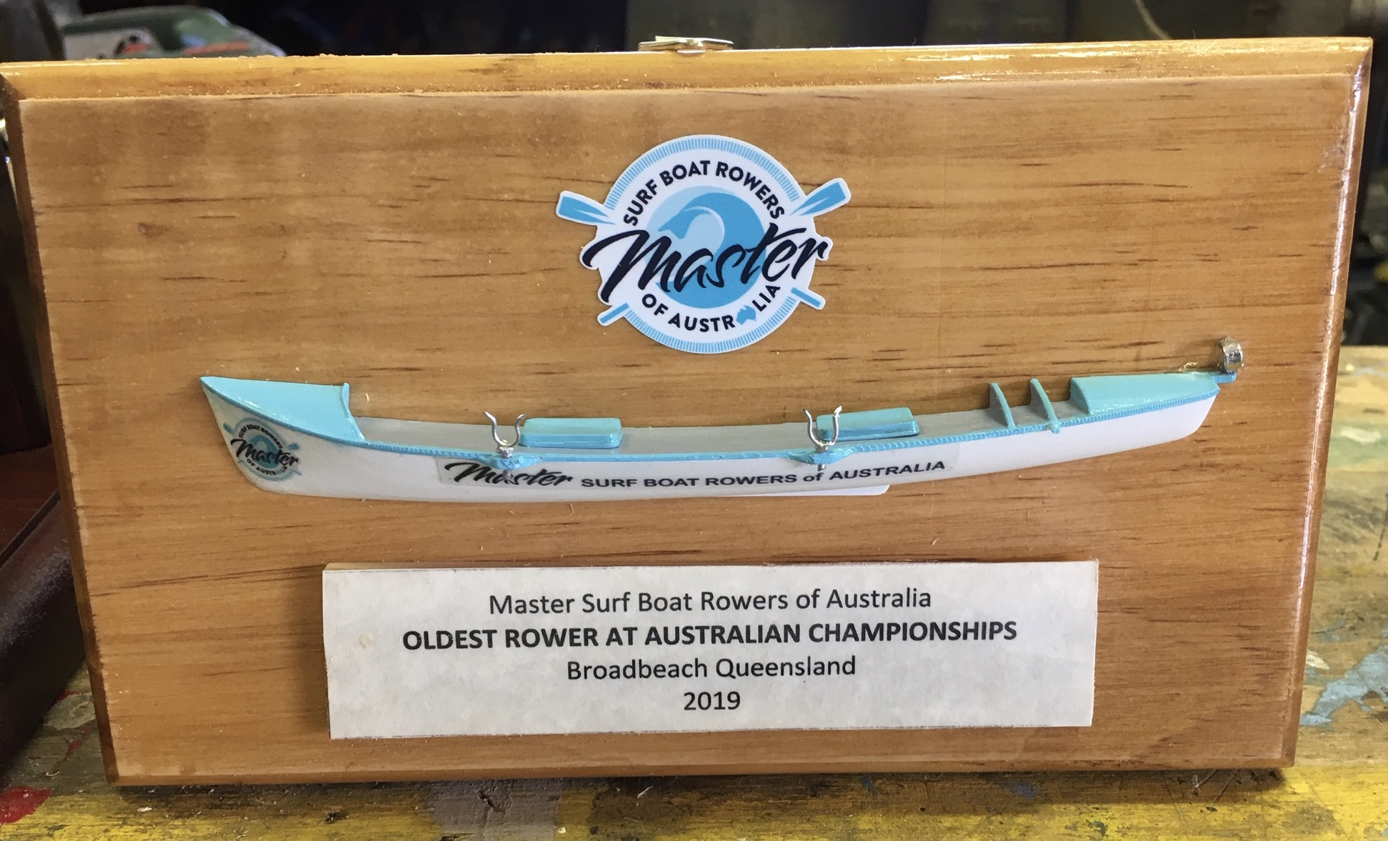 Oldest Rower Trophy