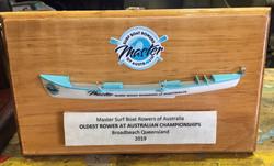 Oldest Rower Trophy