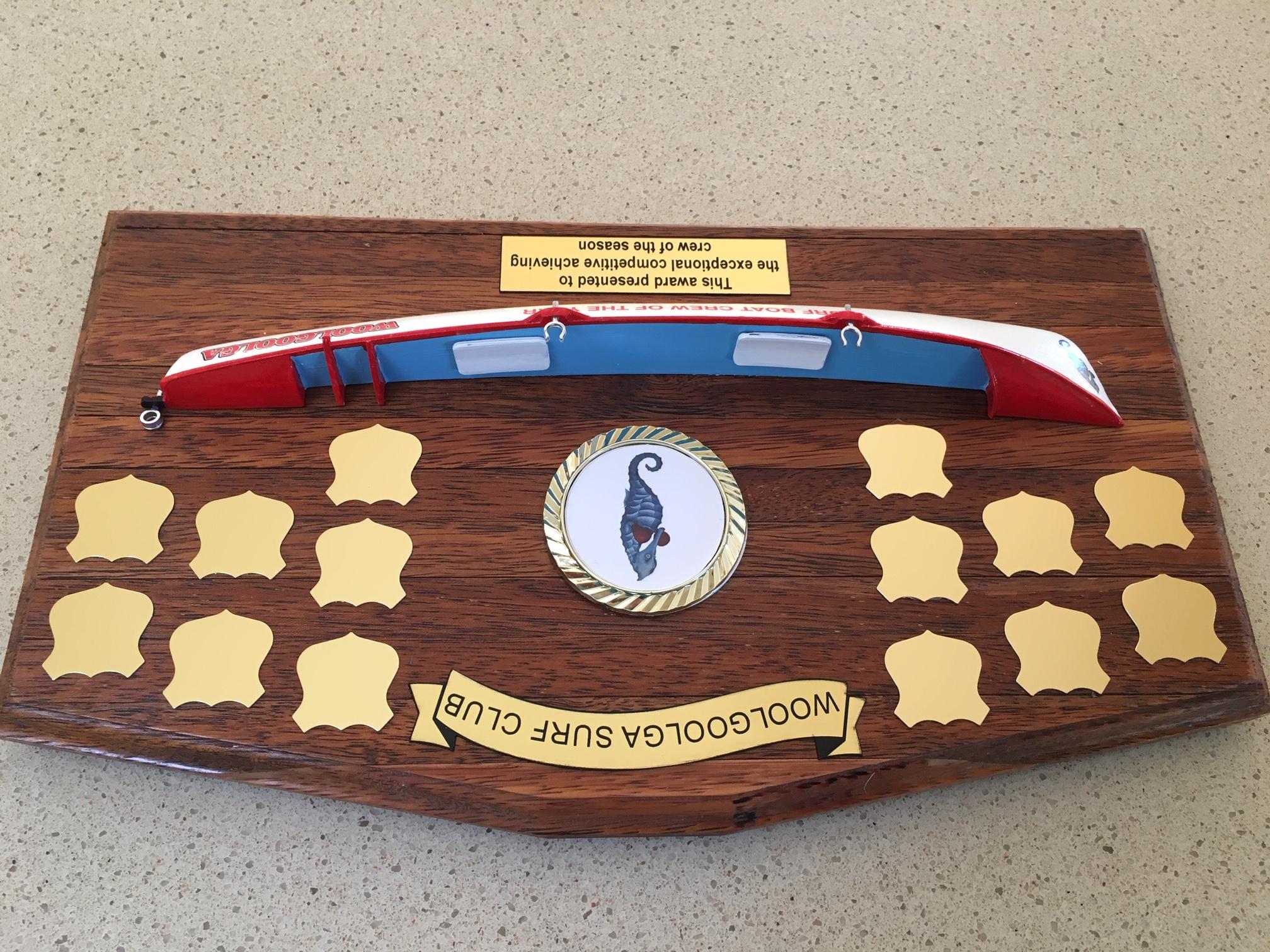 Woolgooga perpetual award