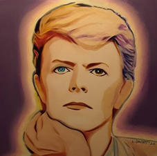 Pensively Bowie
