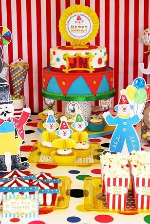 big top circus birthday carnival party c