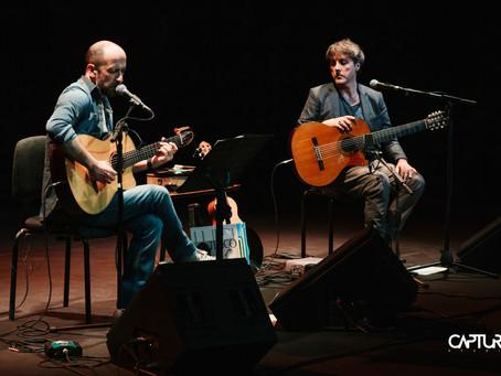 Joe Barbieri e Tony Canto all'Auditorium Parco della Musica di Roma
