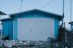 Stabilimento balneare sul Conero