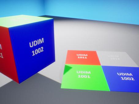 UDIM for Unreal Materials
