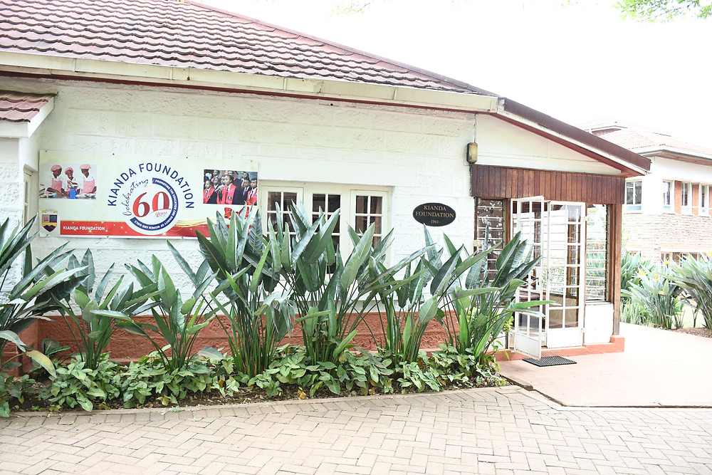 Front entrance of KF building
