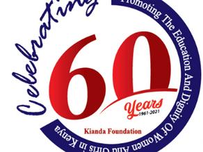 We are 60! #kiandafoundationat60