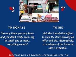 Kianda Foundation Charity Auction