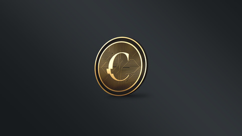 Challenge Coin - Back Gold