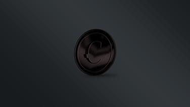 Challenge Coin - Back Black
