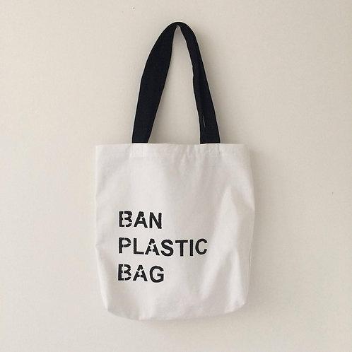 Ban Plastic Bag Tote