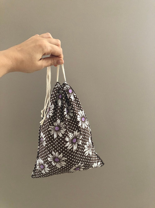 Flower pattern produce bag