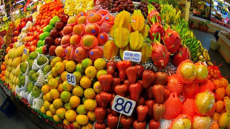 Бабаны, манго, папайю Тайланд