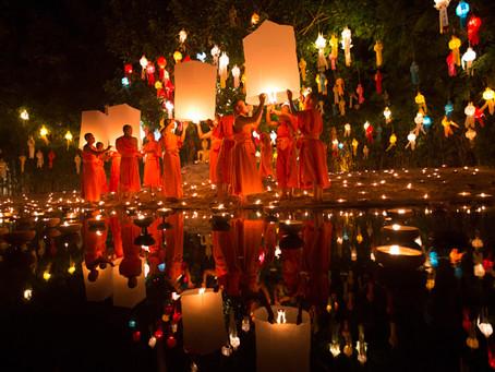 Традиции Таиланда-праздник воды и света.