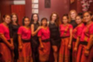 Команда сети салонов тайского массажа в Киеве Thaisabai