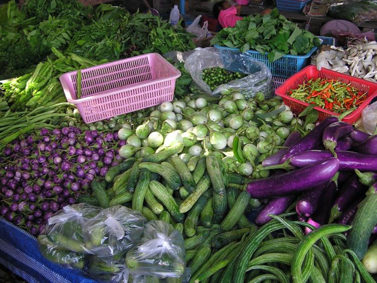 Баклажаны в Таиланде