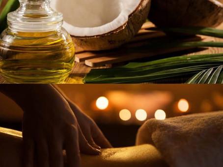 Акция !!! Скидка 640 грн. на массаж с горячим кокосовым маслом 60-90 мин.
