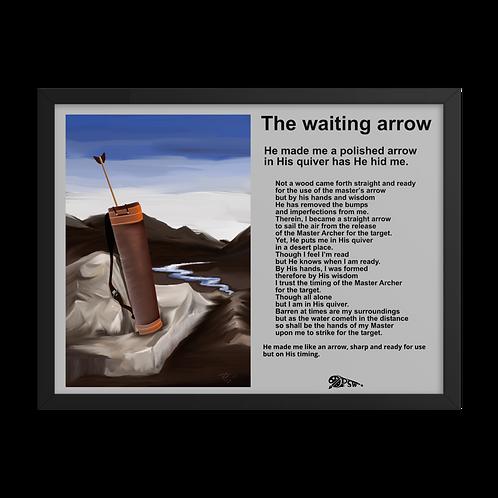 The waiting arrow