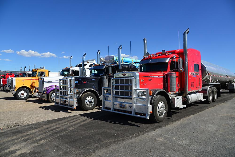 đội xe tải