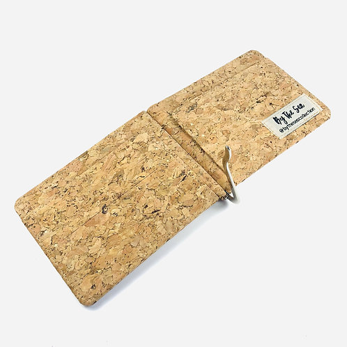 Recycled Cork Money Clip Wallet