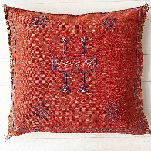 Moroccan Terracotta #1 Cushion Cover by Collective Sol